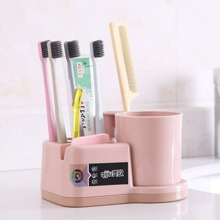 Combined Toothbrush & Toothpaste Storage Holder