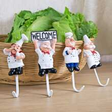 Image of Chef Shaped Hanger 4pcs