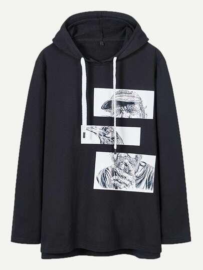 079469e542 Men Sweatshirts, Shop Men Sweatshirts Online   SHEIN IN