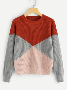 Cut And Sew Jumper