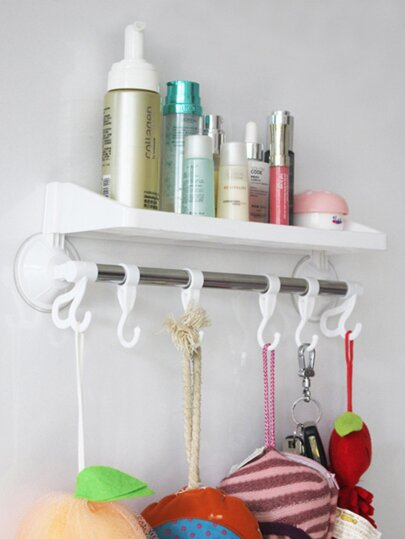 Wall Mounted Bathroom Storage Rack