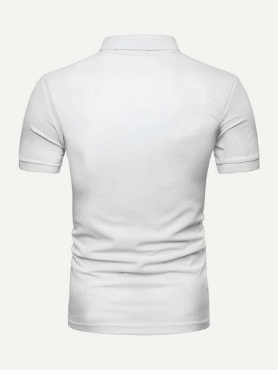 f2523fe198a42 ... Guys Abstract Print Polo Shirt