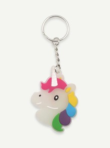 Fluorescence Cartoon Keychain