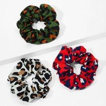 Leopard Pattern Hair Tie 3pcs