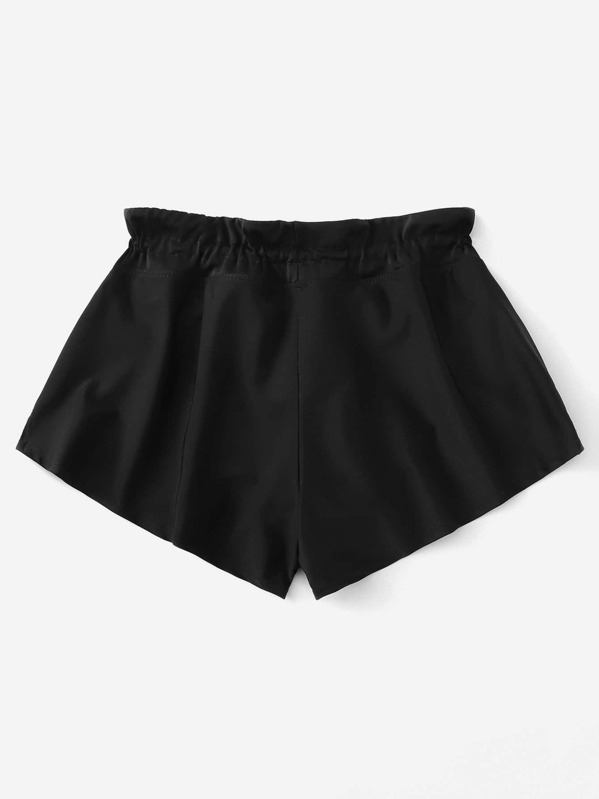70d52c864b Side Slit Drawstring Swim Shorts | SHEIN