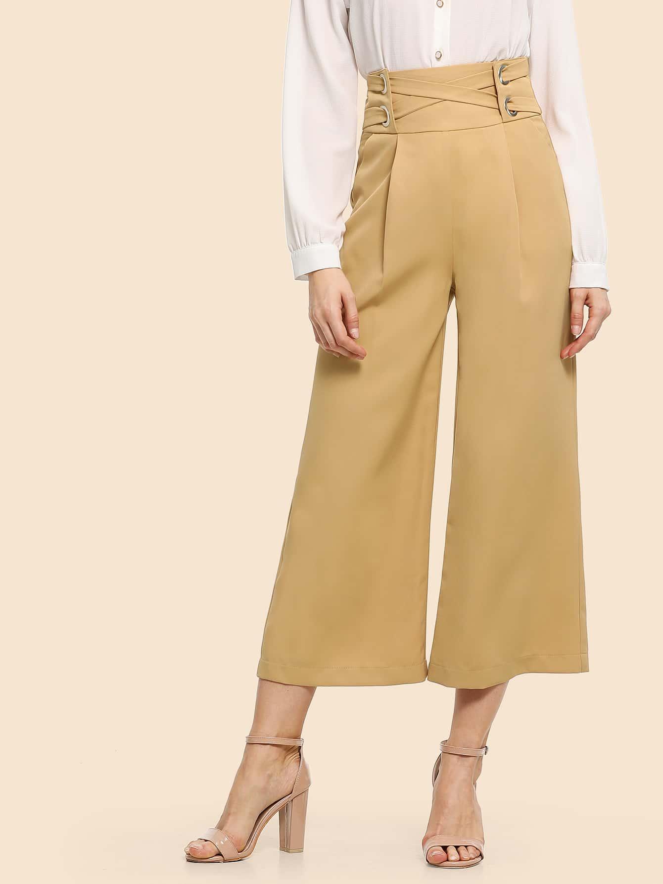 70 'S широкие брюки с высокой талией thumbnail