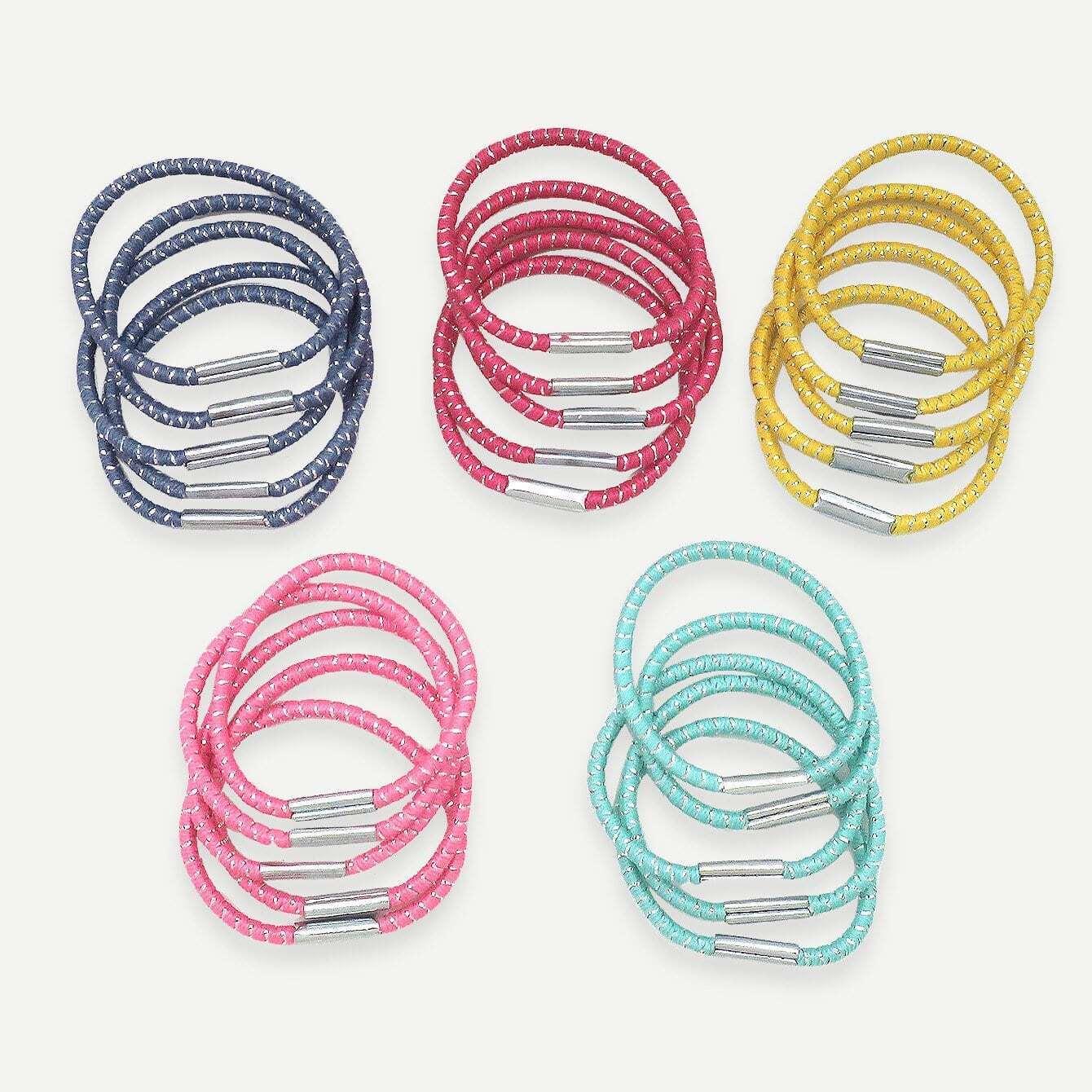 Mädchen einfache elastische Haar Band 25pcs