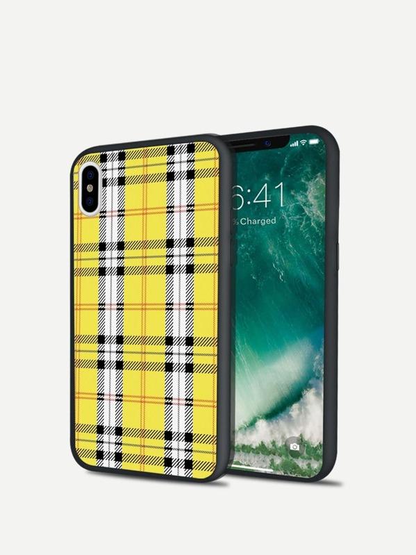 595708b1a8 Cheap Plaid Pattern iPhone Case for sale Australia | SHEIN