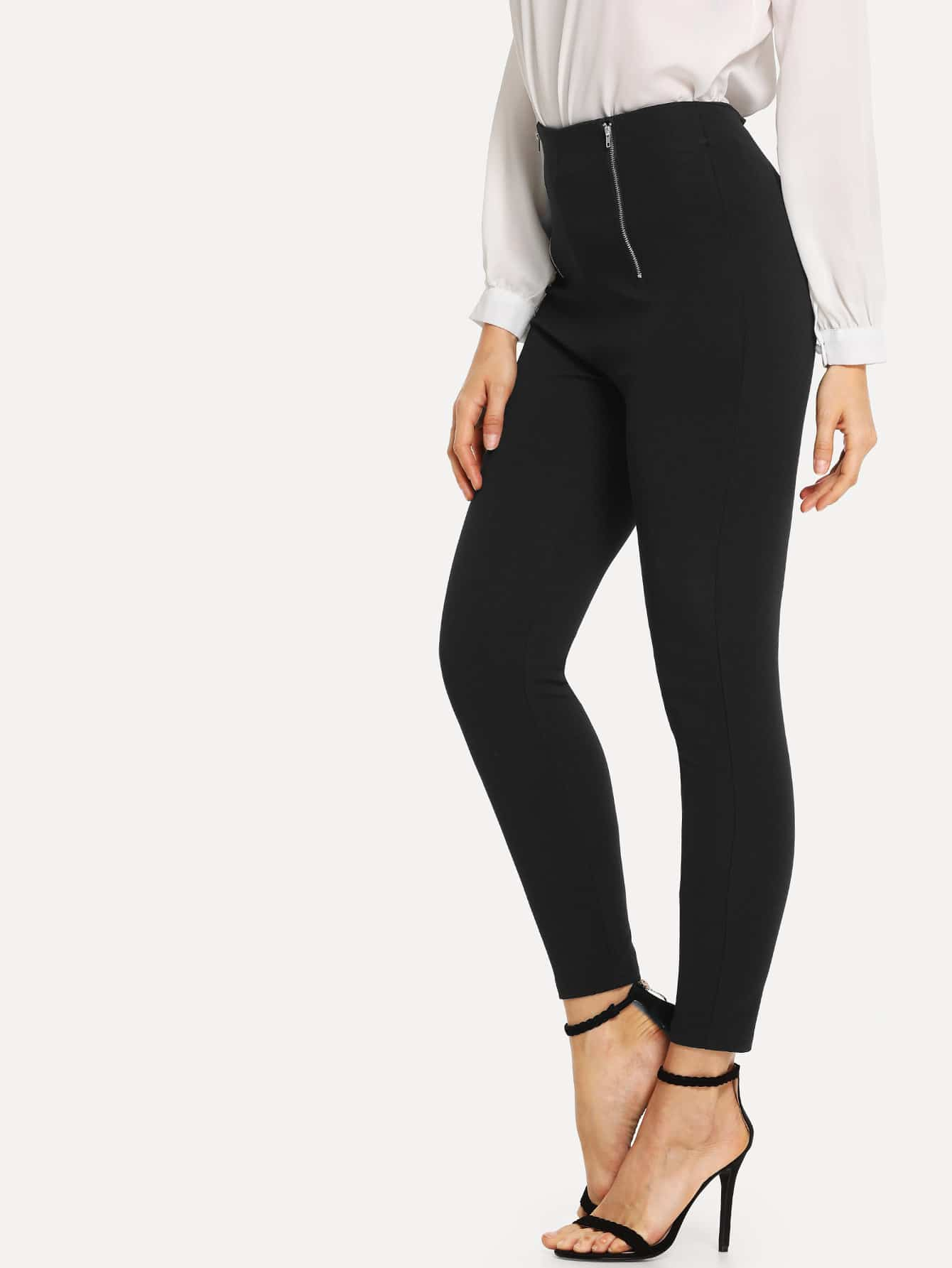 Zip Detail Pants Zip Detail Pants