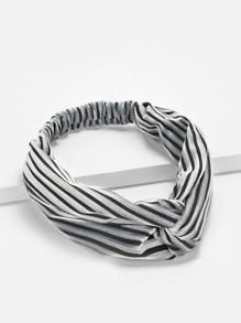 Striped Pattern Twist Headband
