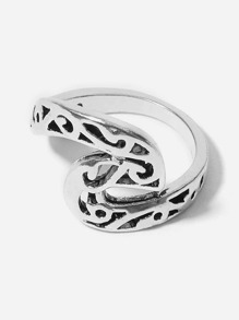 Hollow Detail Ring 1pc