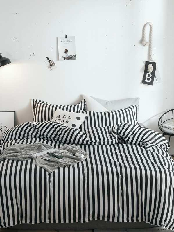 725e106a5b Cheap Striped Print Duvet Cover 1PC for sale Australia | SHEIN