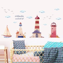 INOpets.com Anything for Pets Parents & Their Pets Sailboat & Lighthouse Wall Art