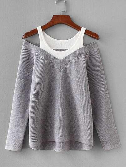 3cf4d03a76 Women's Plus Size Sweaters & Cardigans | SHEIN