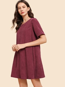 Tunic Solid Cord Dress