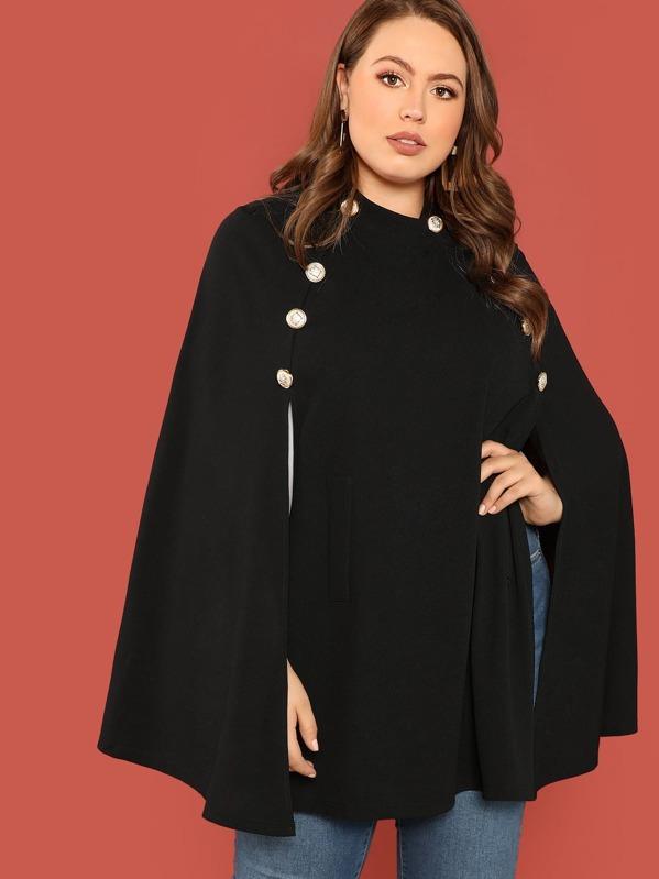 Manteau Boutons Manteau Avec Avec Boutons Cape Cape Manteau Manteau Avec Boutons Cape Z8XnwPNk0O