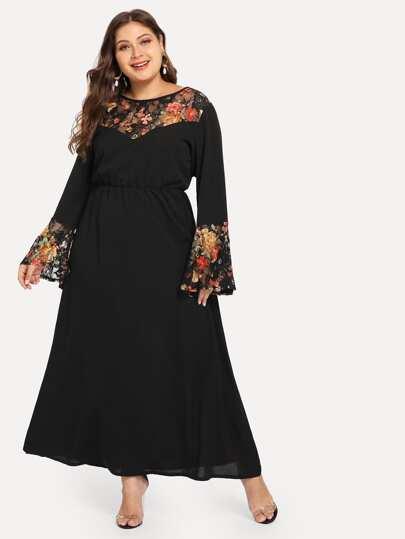 e7701c1b2f Women's Plus Size & Curvy Dresses | SHEIN