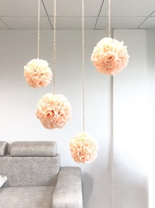 Artificial Flower Ball 1pc