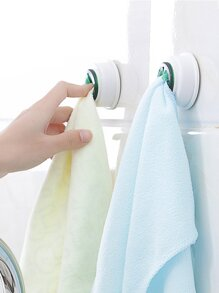 Sucker Round Towel Holder 2pcs