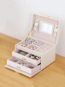 3 Layer Jewelry Storage Box