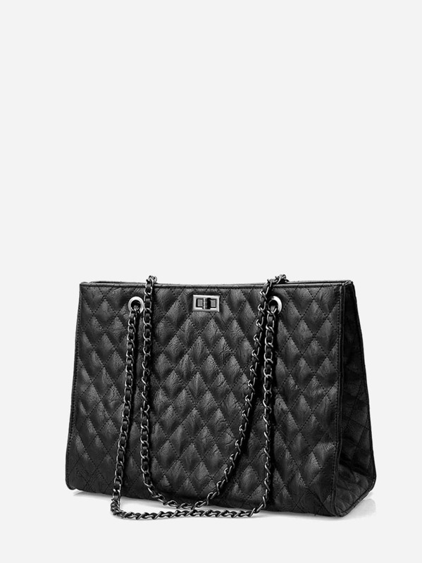 242917e639 Quilted Chain Shoulder Bag