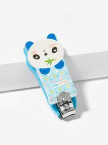 kids cartoon panda shaped nail clipper