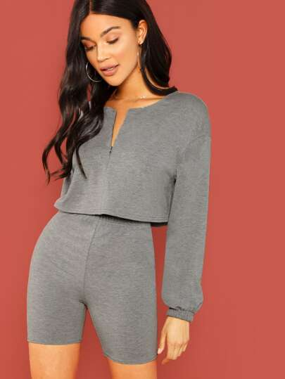 87e6954eb1f6c Two-piece Outfits | Two-piece Outfits Online | SHEIN