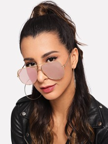 Top Bar Tinted Lens Sunglasses