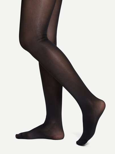 db8b53077 80D Sheer Plain Tights