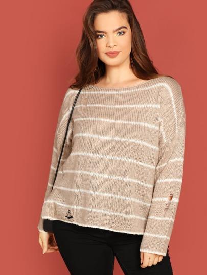 9dde4f27bd Women's Plus Size Sweaters & Cardigans | SHEIN