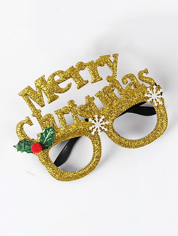 506a3f3ee Christmas Slogan Decorative Glasses | SHEIN
