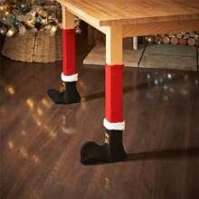 Christmas Sock Shaped Table Leg 4pcs