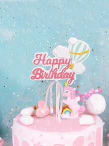 Birthday Cake Topper Decoration 1pc