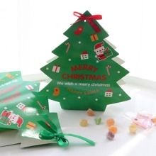 Christmas Tree Candy Box 10pcs