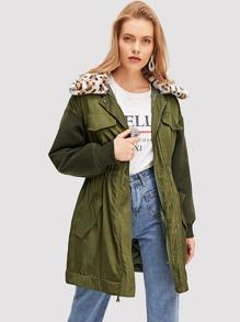 4b8e8a74ed Parka Outerwear EmmaCloth-Women Fast Fashion Online