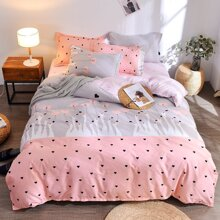 INOpets.com Anything for Pets Parents & Their Pets Bird & Heart Print Sheet Set