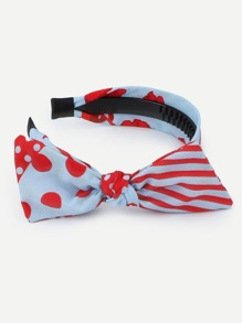 Two Tone Bow Knot Headband
