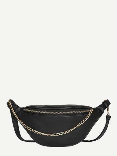 Chain Decor Fanny Pack