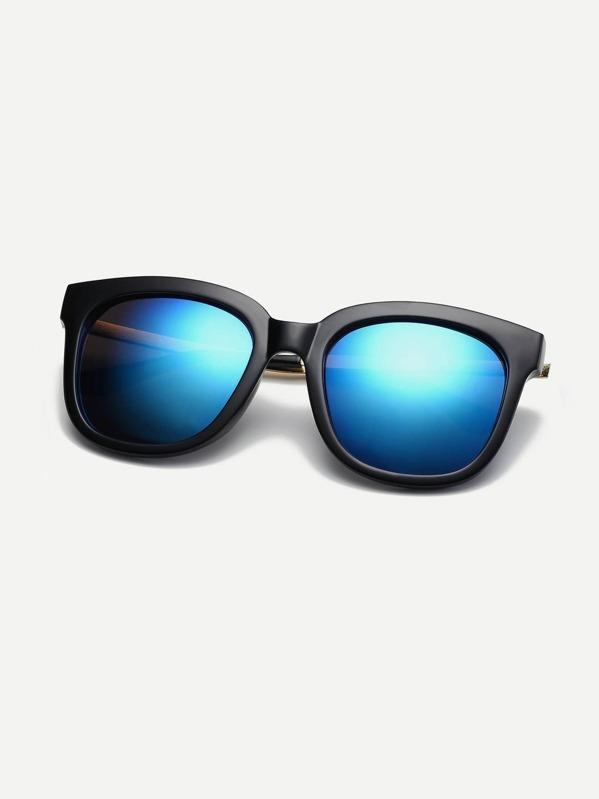 60338ed66e Gafas de sol de hombres de lentes de espejo | SHEIN ES