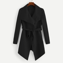 Belted Waterfall Outerwear