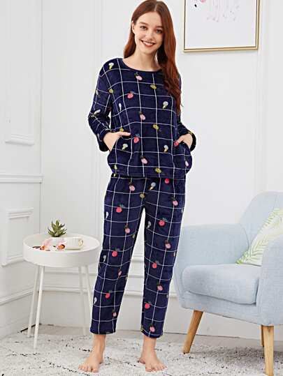 3a385ccf37 Pajama Sets - Shop Pajama Sets for Women Online | SHEIN IN