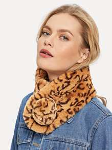 Leopard Tippet Scarf