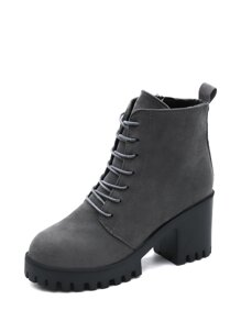 Lace Up Non Slip Boots