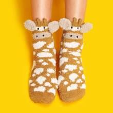 Cartoon Fluffy Socks 1pair