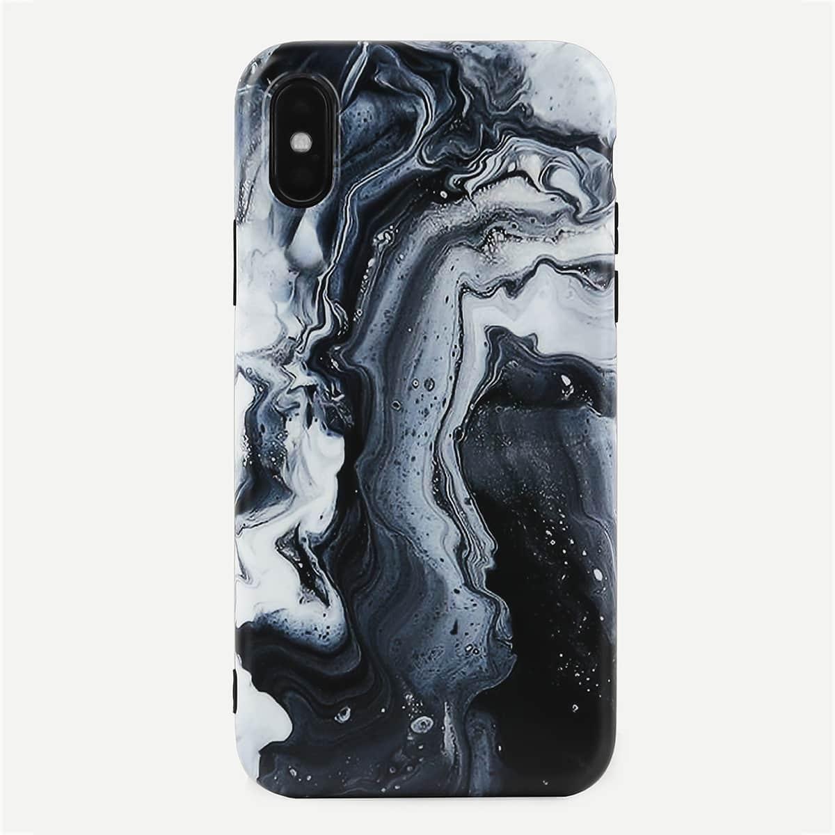 Marmor Print iPhone Hülle