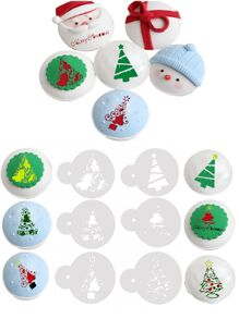 Christmas Tree Decoration Mold 6pcs
