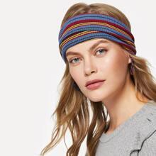Polychrome Striped Headband