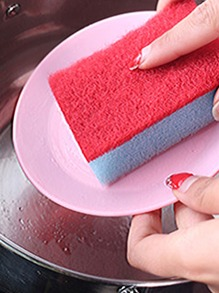 Random Color Cleaning Sponge 5pcs