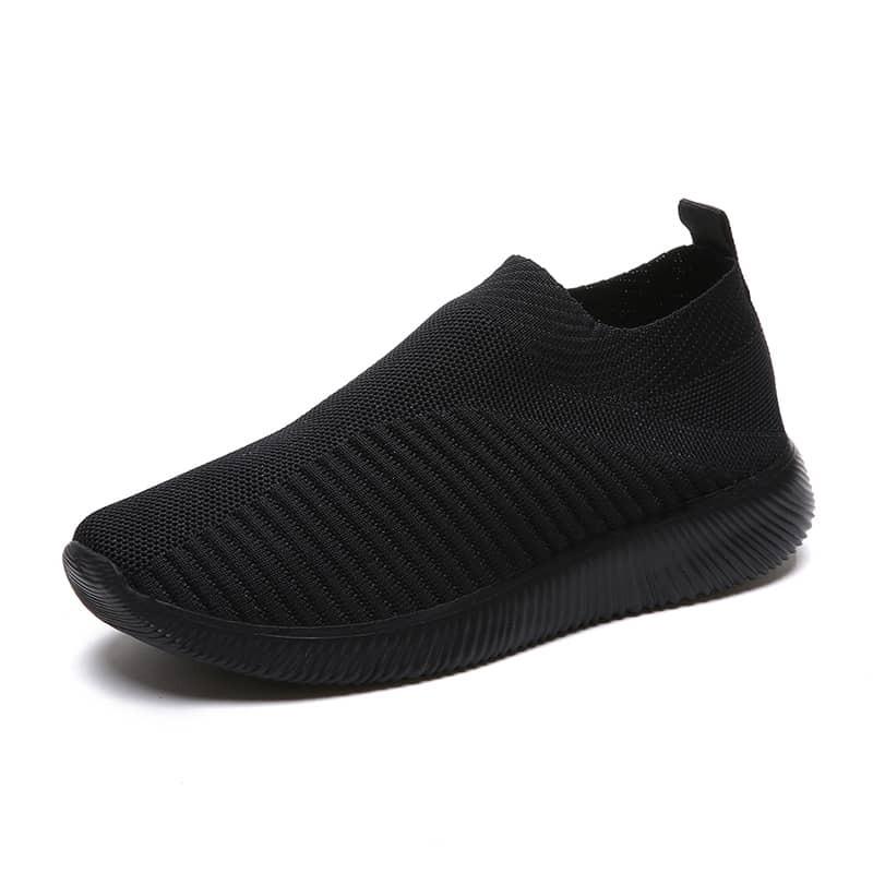 Противоскользящие вязаные кроссовки