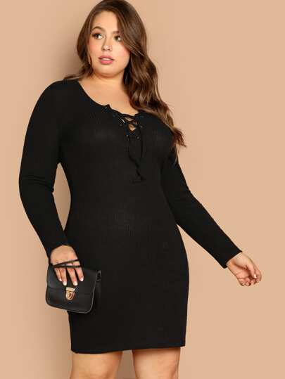 cf2d3f2d4 Women's Plus Size & Curvy Dresses | SHEIN